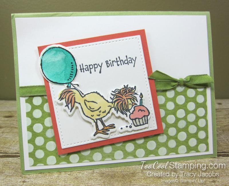 Hey birthday chick cupcake - jacobs 1