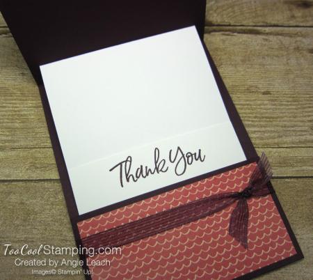 Ice cream corner gift card holder - blackberry 3