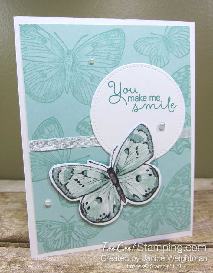 Butterfly Brilliance You Make Me Smile - Weightman