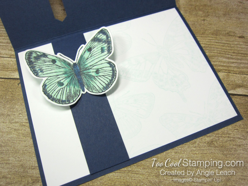 Butterfly Brilliance Emerging Butterfly Cards - navy 4