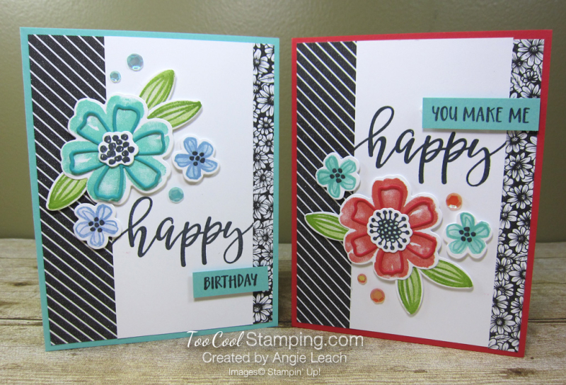 Pretty Perennials simple collage birthday - two cool
