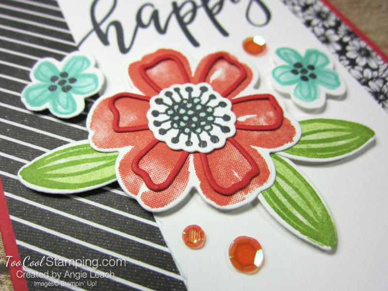 Pretty Perennials simple collage birthday - poppy parade 3