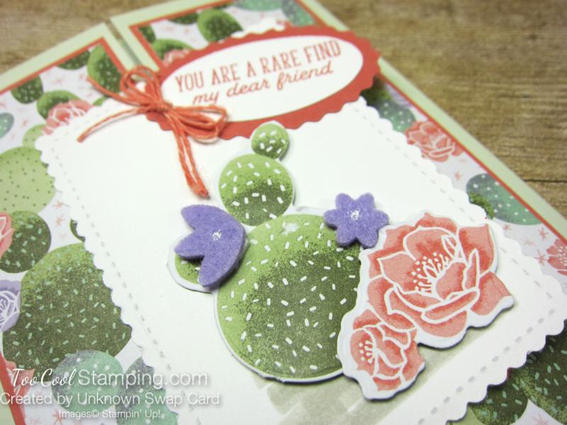 Flowering cactus gate fold - 2