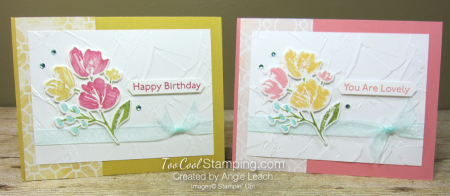 Art gallery multicolor stamping - two cool