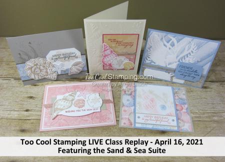 Sand & sea LIVE class banner