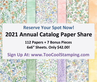 2021 Annual Catalog Paper Share Banner