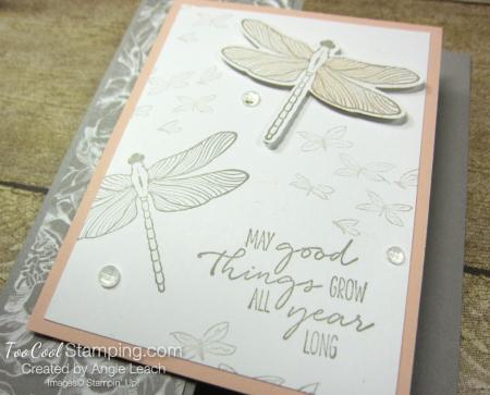 Dragonfly garden z-fold - peony 2