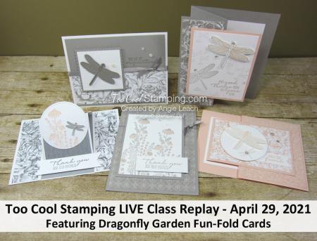 Dragonfly Garden LIVE Class Banner
