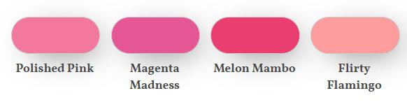 Polished pink comparison