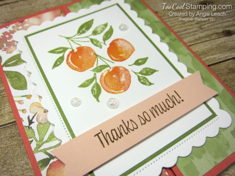 Sweet As A Peach Gate-Fold - peaches 2