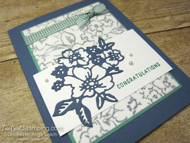 Hand Penned Petals congratulations - misty 2