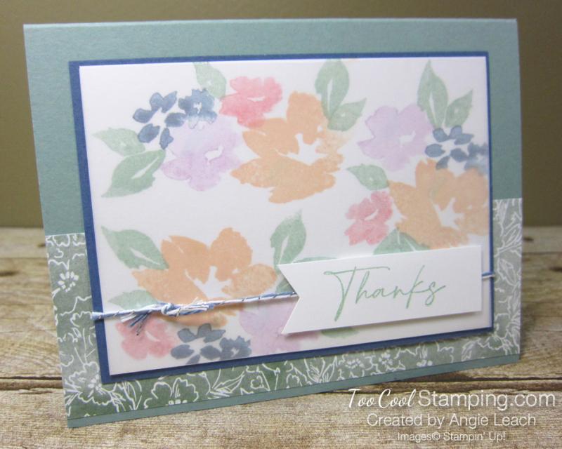 Hand Penned Petals congratulations - succulent 1