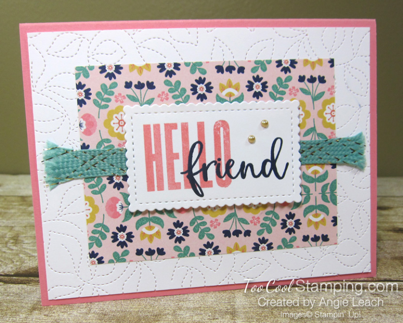 Biggest Wish Hello Friend Symmetry - flirty