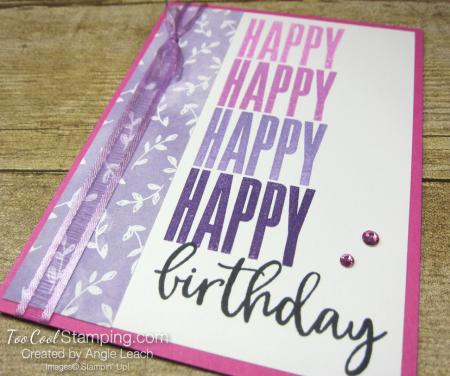 Biggest Wish Hinge Step Birthday - pinks 2
