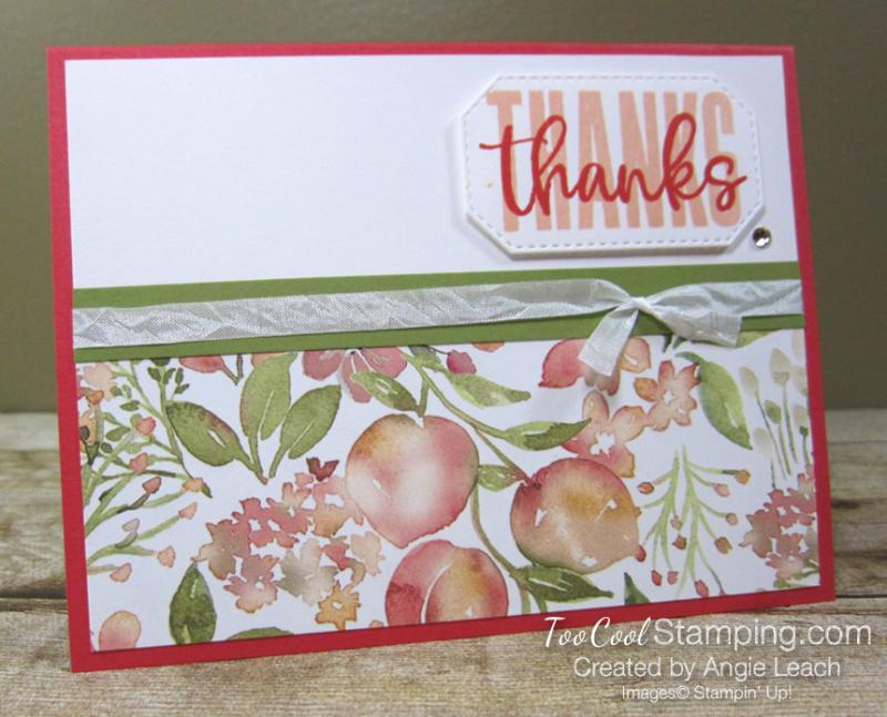 Biggest Wish Peach Thanks - poppy