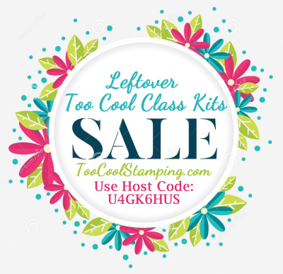 Leftover Class Kit Sale Banner