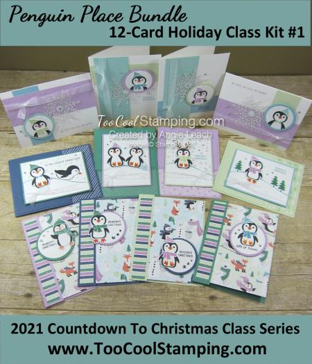 Penguin place CTC 12-card class banner