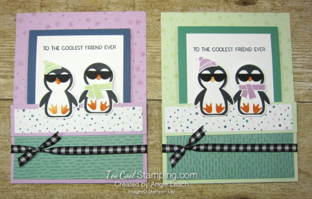 Penguin Place cool with shades -  two cool