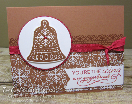 Gingerbread icing bell 1