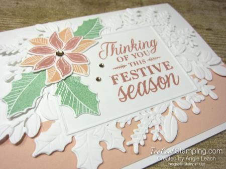 Merriest Moments festive season blush - white 2