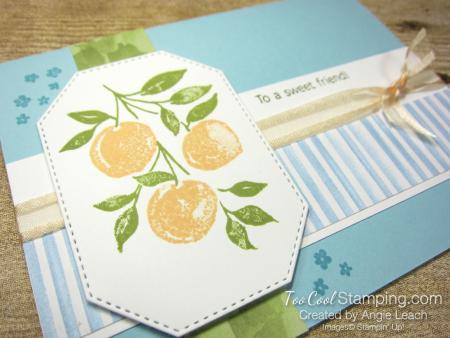 Sweet As A Peach simple stamped trio - peaches 2