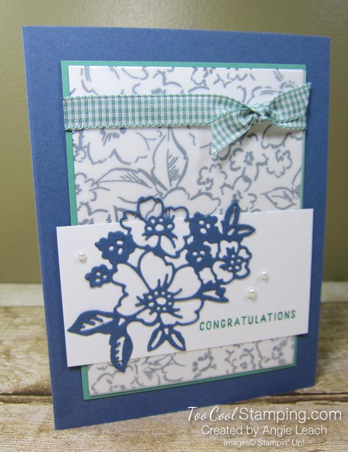 Hand Penned Petals congratulations - misty 1
