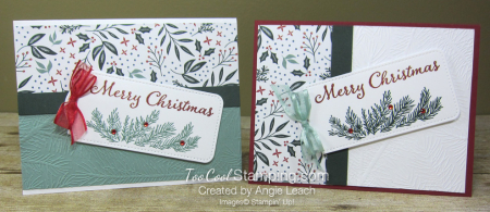 Evergreen elegance merry tag - two cool