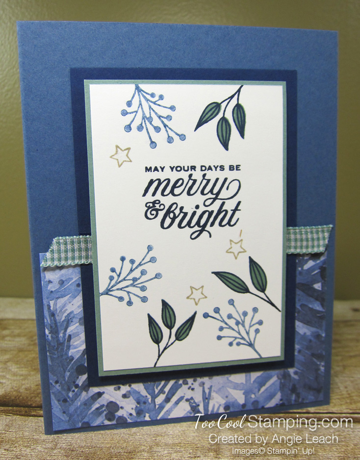 Tidings & trimmings merry & bright - misty