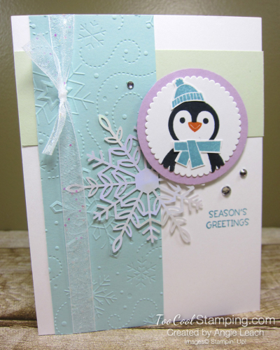 Penguin Place Snowflake cards - pool a1