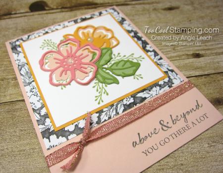 Shaded Summer die-cut flowers - petal pinks 2