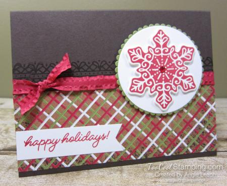 Gingerbread icing snowflake 1