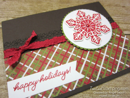Gingerbread icing snowflake 2