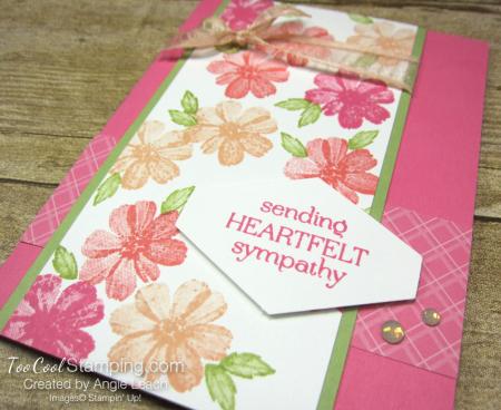 Delicate Dahlias heartfelt sympathy - pink 2