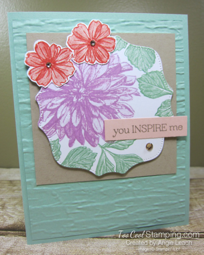 Delicate Dahlias you inspire me - mint