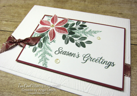 Merriest Moments textured background - white greetings 2