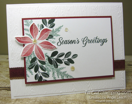 Merriest Moments textured background - white greetings 1