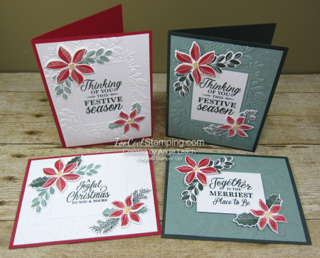 Merriest Moments embossed frame - four cool